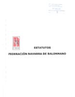 ESTATUTOS FEDERACIÓN NAVARRA DE BALONMANO
