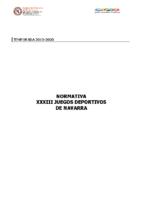 JDN – Normativa 2019-2020