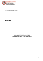 Territorial – Normativa 2019/20