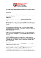 Protocolo Covid Competiciones Senior