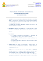 Protocolo Partidos – Lagunak (P. Municipal)