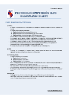 Protocolo Partidos – Uharte